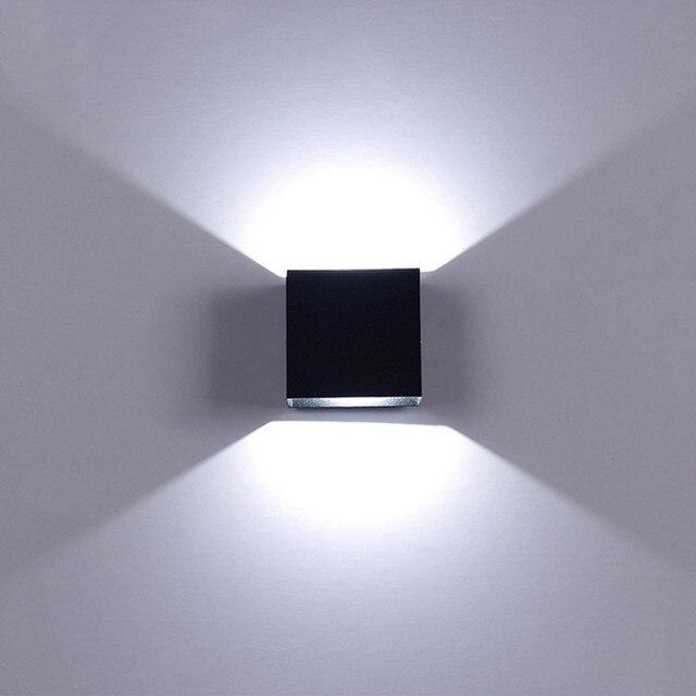 6W LED Wall Lamp Modern Bedroom Beside Reading  1
