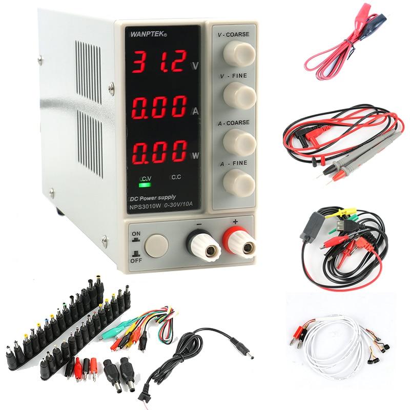 NPS3010W NPS306W Adjustable Digital DC Power Supply 30V 10A 5A with power display Switch Laboratory Power