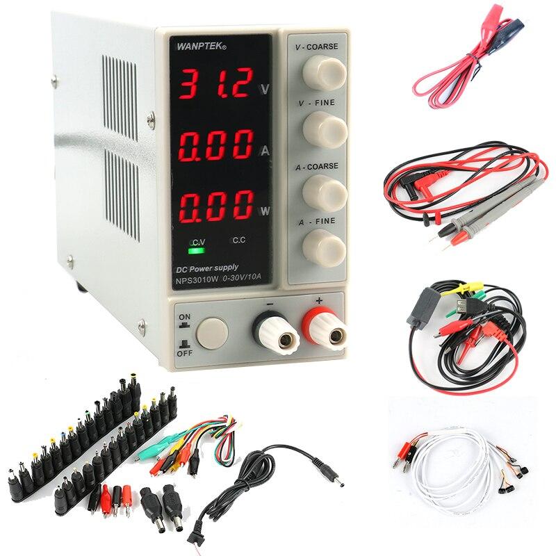 NPS3010W NPS306W Einstellbare Digital DC Netzteil 30 V 10A 5A mit power display Schalter Labor Netzteil