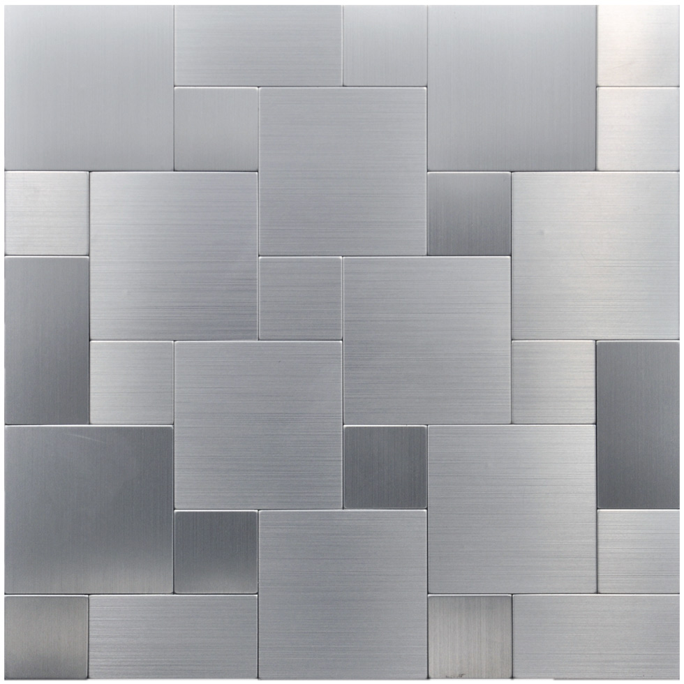 10 Peel And Stick Tiles On Metal Mosaics Steel