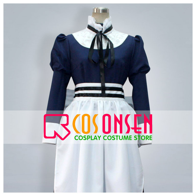 COSPLAYONSEN Hetalia Belarus Cosplay Blue/White Dress Costume All Sizes Custom Made