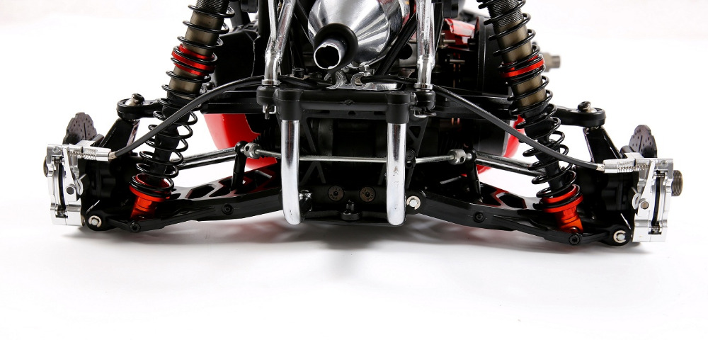 CNC hinterrad Draht Bremse kit für 1/5 hpi rovan km baja 5b RC AUTO teile - 5