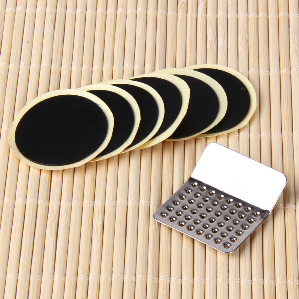 1Set Cycling Bicycle Bike Repair Fix Kit Flat Rubber Tire Tyre Tube Patch Glueless Patch Kit Free Shipping New Arrival