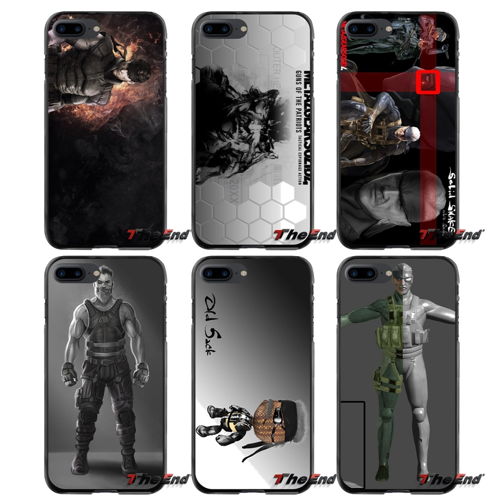 Old Snake Accessories Phone Shell Covers For Apple iPhone 4 4S 5 5S 5C SE 6 6S 7 8 Plus X iPod Touch 4 5 6