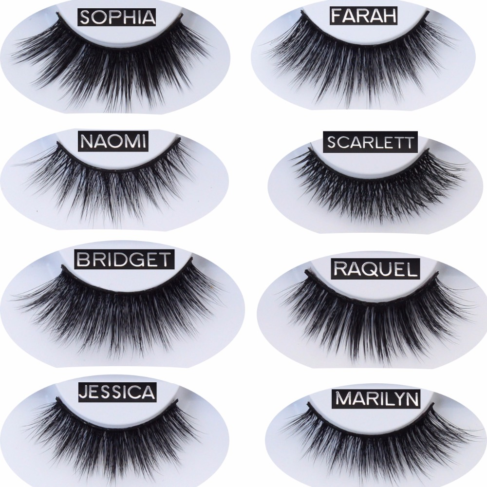 b00215e6c42 Handmade False Eyelash Extension Faux Mink Eyelashes 3D Soft Makeup Eye  Lashes