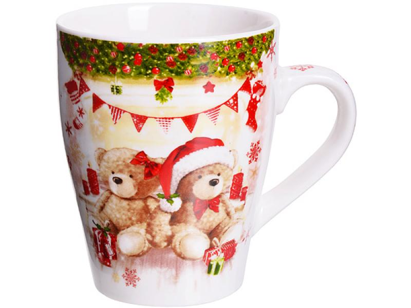 Mug LORAINE, MERRY CHRISTMAS, 340 ml кружка loraine merry christmas 340 мл