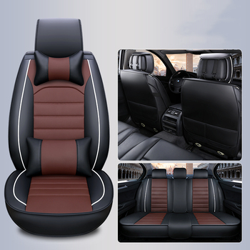 WLMWL Universal Leather Car seat cover for Volvo all models s60 s80 c30 s40 v40 v60 xc60 xc90 xc70 car styling