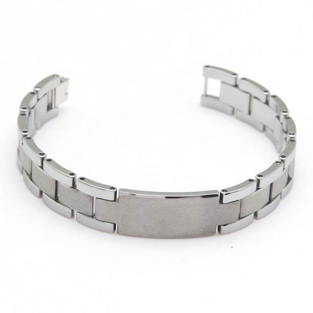 tungsten carbide Tungsten Steel Bracelet Unique Cool Bracelet Length 20.5cm Width 1.4cm Thickness 3mm Weight 90g