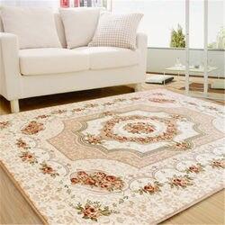 Kupić kwiatowy dywan klasyczny w stylu perskim dywany i wykładziny dla domu pokój dzienny  przeciwporostowe  podłoga powierzchnia dywan sypialnia salon miękka mata