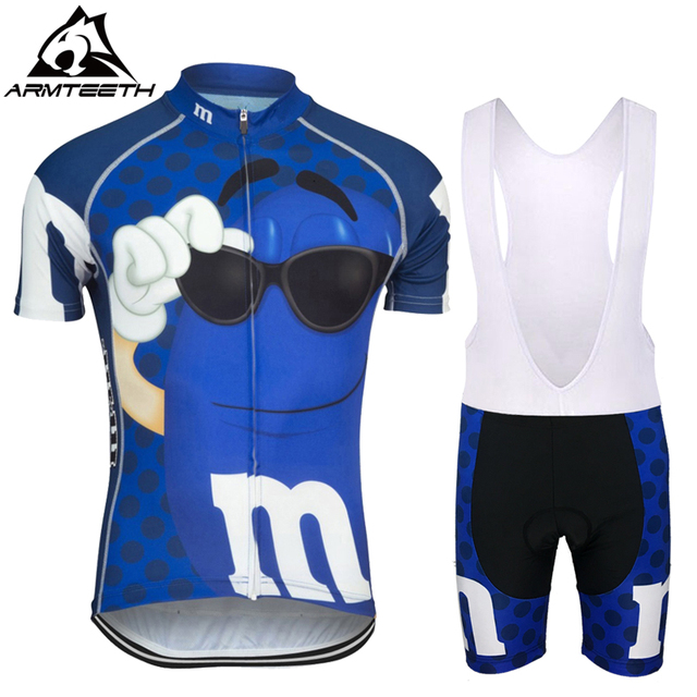Armteeth Brand Mens Bicycle Wear MTB Cycling Clothing cycling sets Bike MMS Cycle shirt Summer Male cycling jersey set