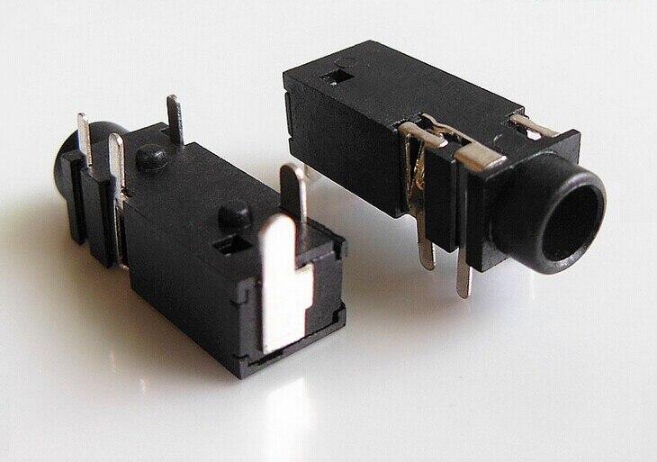 10PCS 3.5mm Female Audio Connector 5 Pin DIP Headphone Jack Socket PJ-328A