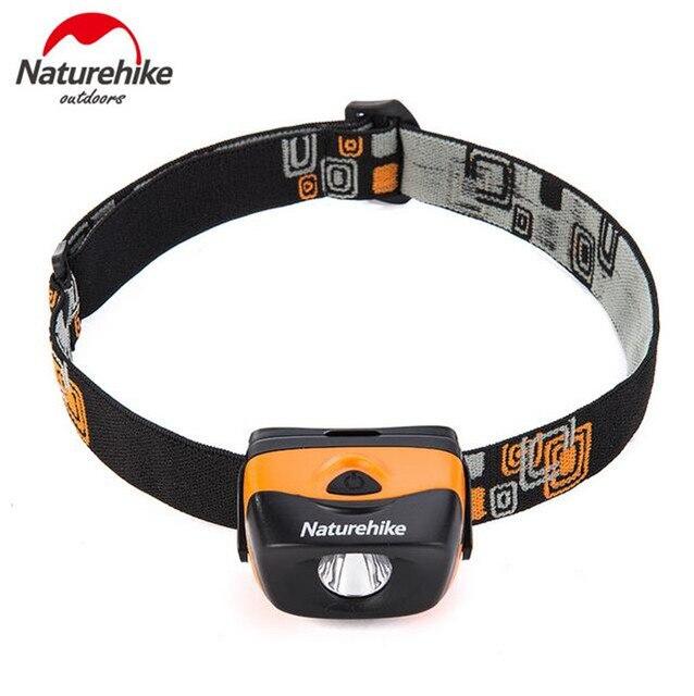 Naturehike Outdoor Outdoor Waterproof IPX6 LED Headlamps Portable Lighting ABS Miner Lamps Ultra Light Head Lamp Night