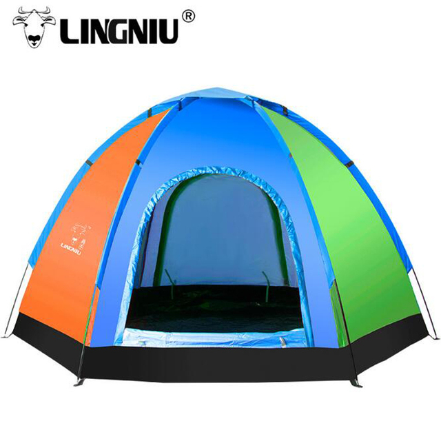 5-8Person Camping Tent Waterproof Weather Resistant Outdoor Camping Tent For Fishing Hunting Adventure family party Hiking Tents