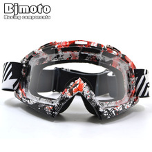 Amazing Adult cross Off-Road Motorcycle Motorbike sport Cross Country Flexible Dirt Bike Helmet Goggles Eyewear glasses