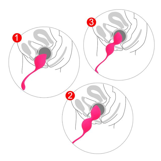 3PCS KEGEL BALL V EXERCISE (2 VARIAN)