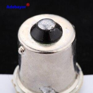 Image 3 - 100 個 1156 P21W BA15S 13014 22SMD led電球バックアップリバースライト使用ブレーキライトテールライトrvライト白アデバヨール
