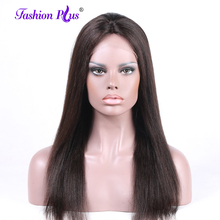 hot deal buy fashion plus malaysian full lace human hair wigs malaysian virgin hair straight full lace wigs for black women with baby hair