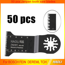 50 pcs 45mm precision oscillating tool saw blades accessories fit for Multimaster power tools as Fein, Dremel,wood cutting