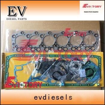 Per Mitsubishi motore 6D34 6D34T pieno cilindro guarnizione testa kit evdiesels