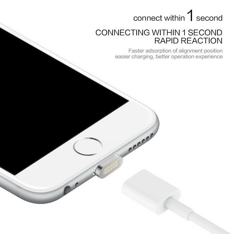 2.4a ładowania kabel do samsung apple iphone 5 5s 6 magnetyczne 6 s 7 plus ipad telefon komórkowy magnet ładowarka micro usb charge kabel 7