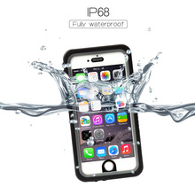 New Arrival Universal Waterproof Case ShockProof IP68 Certified With Touch ID Full Body Cover for iPhone7/6s/6 9 colors