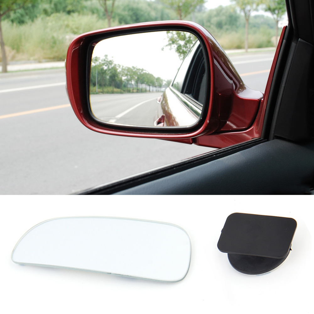 2x Car Wide Angle Blind Spot Mirror Arc/Rectangle Adjustable 360 Degree Dual-use Universal Auto Accessories Car Styling