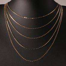 цена на LNRRABC  8 Sizes Adjustable Available Box Chain Necklace Allergy Free Graceful Womens Mens Kids 16/18/20/22/24/26/28/30 Inch
