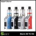 Vapor Storm Mini 50W Electronic Cigarettes Box Mod Kits Temperature Control Hookah EC Tank 1.0 ohm Huge Vape Vaporizer