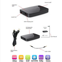 Syllable E3 Wireless Bluetooth Audio Transmitter For Bluetooth Headphones To Non Bluetooth Source 3 5mm Aux