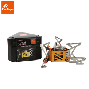 Image 3 - Fire Maple Engine Light Weight Outdoor BBQ Picnic Camping Split Oil Petrol Fuel Stove with 0.5L Fuel Bottle 3275W 321g FMS F3