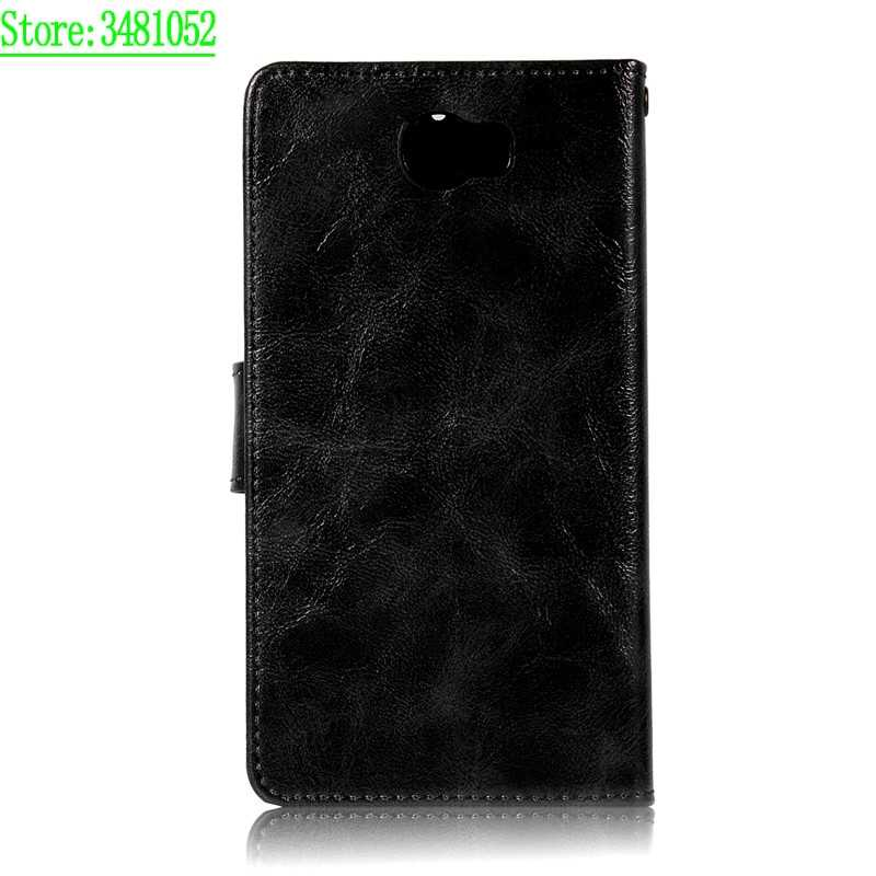 new concept 203d1 a8156 For Huawei Y6 ii Compact LYO-L21 LYOL02 Y6Elite Y6 Elite Wallet Leather  Phone Case for Huawei Y6ii Compact LYO L21 L02 Case Flip