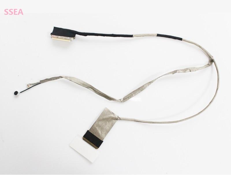 WZSM UUSI kannettava LCD-videokaapeli ASUS K53 A53 A53S: lle K53E K53S X53E A53b K53Z 14G221036001 14g221036002