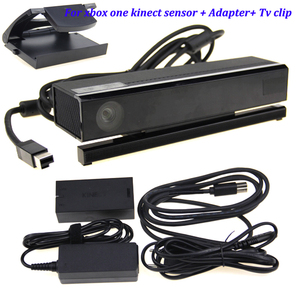 Новинка для Xbox One S kinect Sensor с USB Kinect Adapter 2,0 3,0 для Xbox One Slim для Windows PC kinect adapter + TV Clip