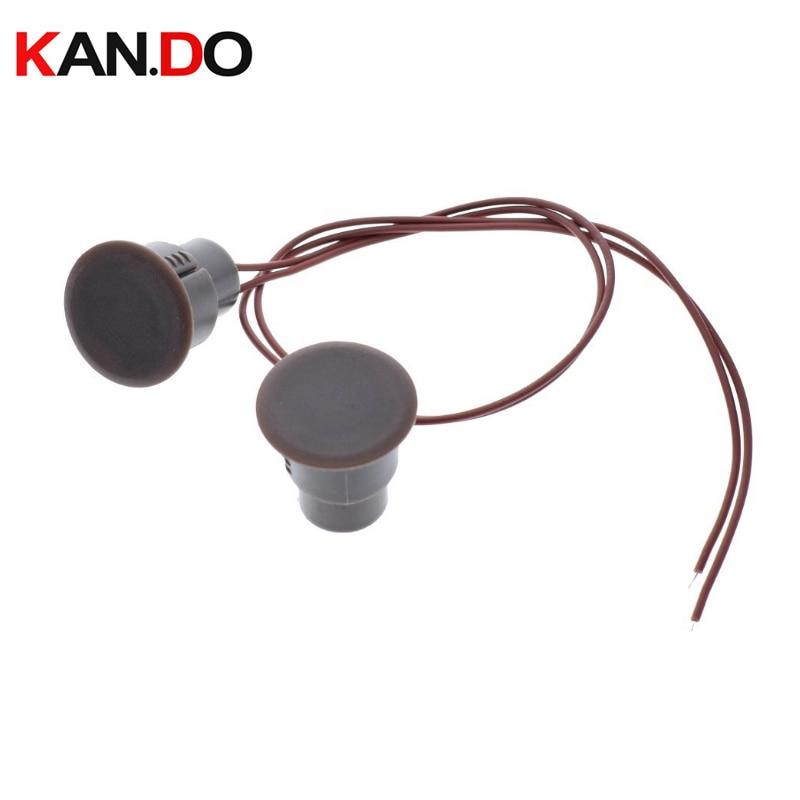 10pcs MC-33 Wired Door Window Sensor Magnetic Switch Home Alarm System Detector