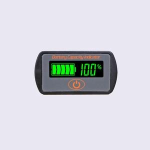 Image 2 - Indicateur de capacité de batterie au Lithium réglable 2 S 3 S 4 S 5 S 7 S LY7 12 V 24 V acide de plomb Li ion testeur de voltmètre ebike LCD