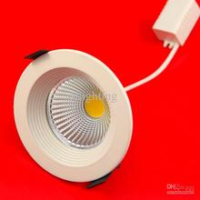 Cheap Round  Led Down Light Best LED  12W  Cob Led recessed downlight led home light 10pcs/lot