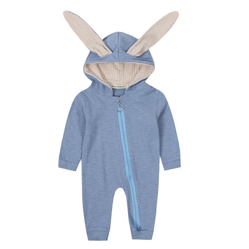 HTB1zJNhaKL2gK0jSZPhq6yhvXXa1 New Spring Autumn Baby Rompers Cute Cartoon Rabbit Infant Girl Boy Jumpers Kids Baby Outfits Clothes