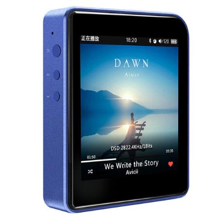 Prix pour D'origine Shanling M1 (+ étui En Cuir cadeau) Portable Bluetooth 4.0 Mini DAP DSD64/DSD128 Sans Perte Lecteur de Musique