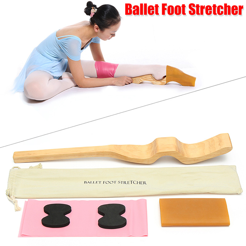 Ballet Foot Band Stretcher Fitness Arch Enhancer Elastic Band Foam Pad for Dance Gymnastics Ballet instep shaping Set foot stretcher professional ballet tutu tool wod arch classical ballet foot stretch for dancer device instep ballet accessories