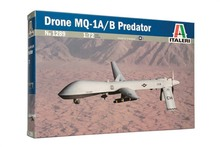 ITALERI 1289 Drone MQ-1A/B predator plastic model kit(China)