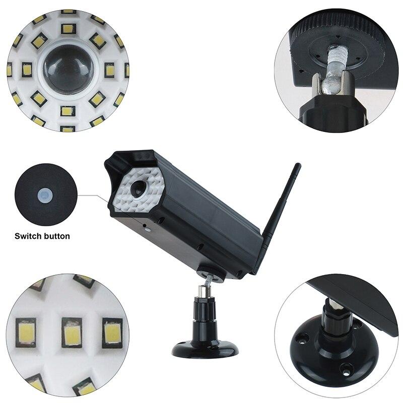 LED Solar Light Power Street PIR Motion Sensor Spotlight Outdoor Lamp Garden Yard Simulation Monitoring Security Lamp 30SMD2835 in Solar Lamps from Lights Lighting