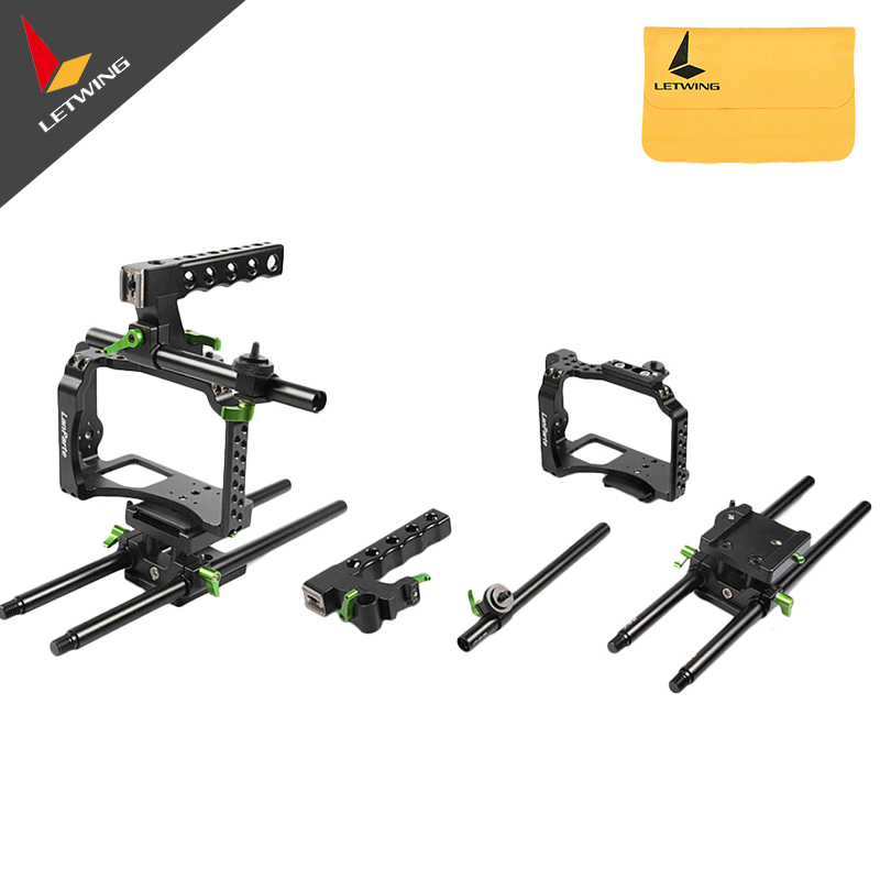 Lanparte MCK-01 Mirrorless Camera Basic Kit DSLR Rig Shoulder Mount Rig for GH4 GH3 A7