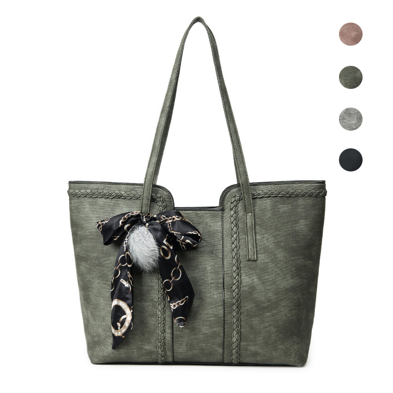 MLHJ Brand Fashion Casual Large Capacity Women Bag Shoulder Bag for Women Hand Tote Bag PU Leather ladies Womens Handbags girl