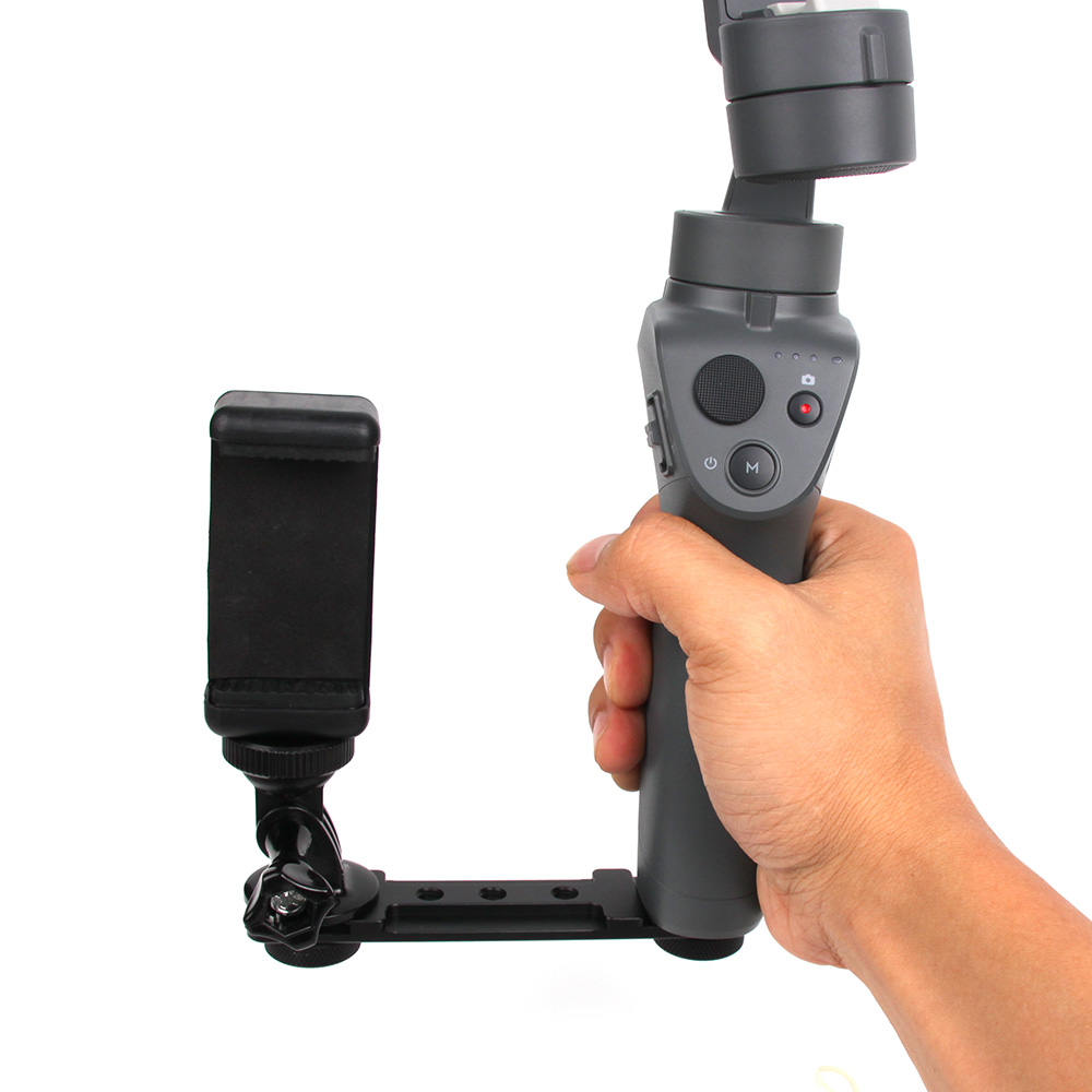 Mobile Phone / Camera Holder Handheld Stabilizer Expands Bracket Mount Adapter Kit for DJI OSMO Mobile 2 Accessories universal cell phone holder mount bracket adapter clip for camera tripod telescope adapter model c