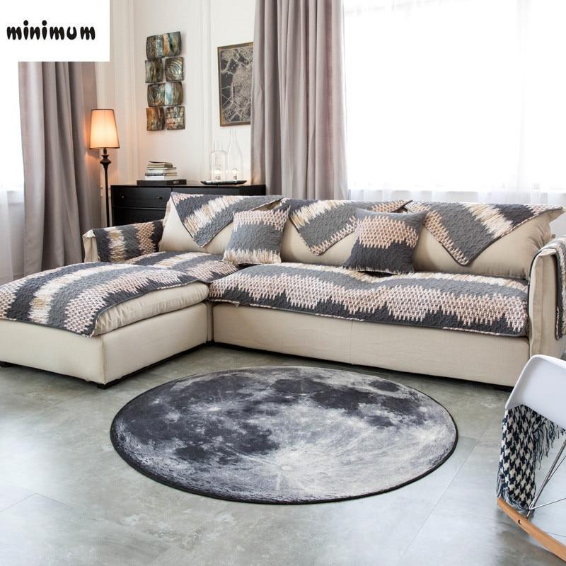 Modern Simplicity Nordic Cotton Sofa Mats Anti Slip Sofa Towel Four Seasons  Universal Leather Sofa Cover Free Shipping