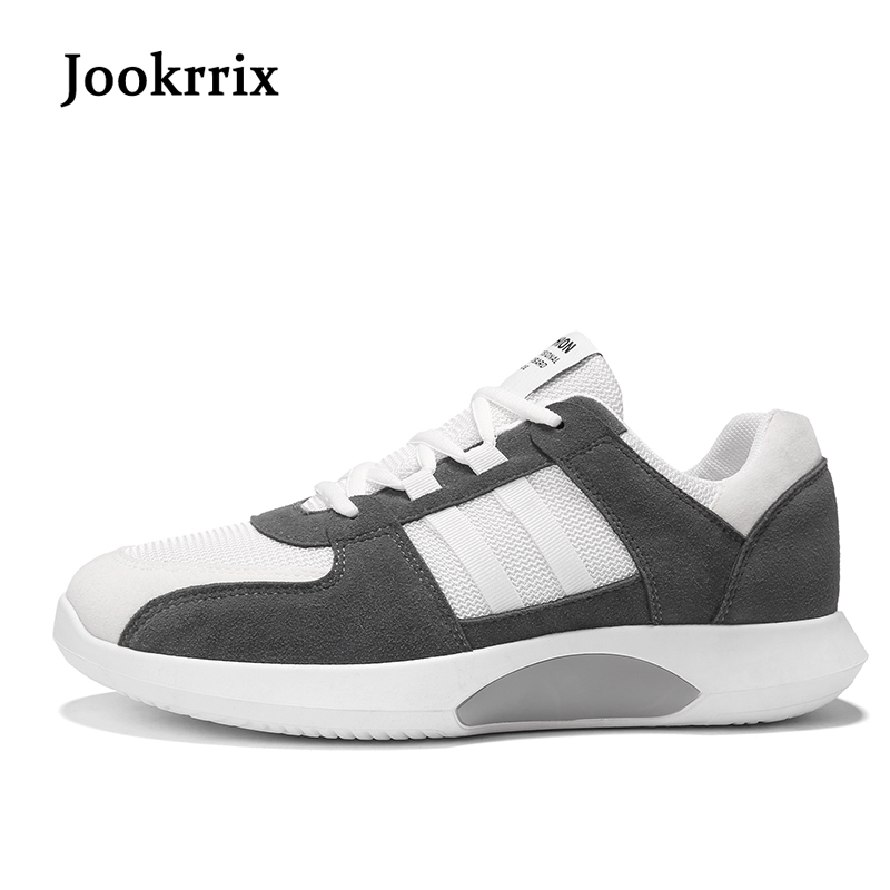 Jookrrix 2018 New Spring Fashion Leisure Shoes Men Sneaker Black Shoe  Breathable Cross-tied Young Male Casual Shoe Good Quality cea04fd9b789