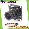 Hd 700TVL Sony CCD PAL ou NTSC FPV câmera D-WDR OSD Mini CCTV PCB FPV pequena câmera grande angular 2.1 mm Lens Dropship