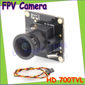 Wholesale 1pcs HD 700TVL Sony CCD PAL or NTSC FPV Camera OSD D-WDR Mini CCTV PCB FPV Tiny Wide Angle Camera 2.1mm Lens Dropship