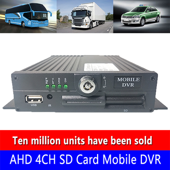 Semi trailer/bus local video monitoring host AHD720P hd global language support wholesale direct PAL system in Russia