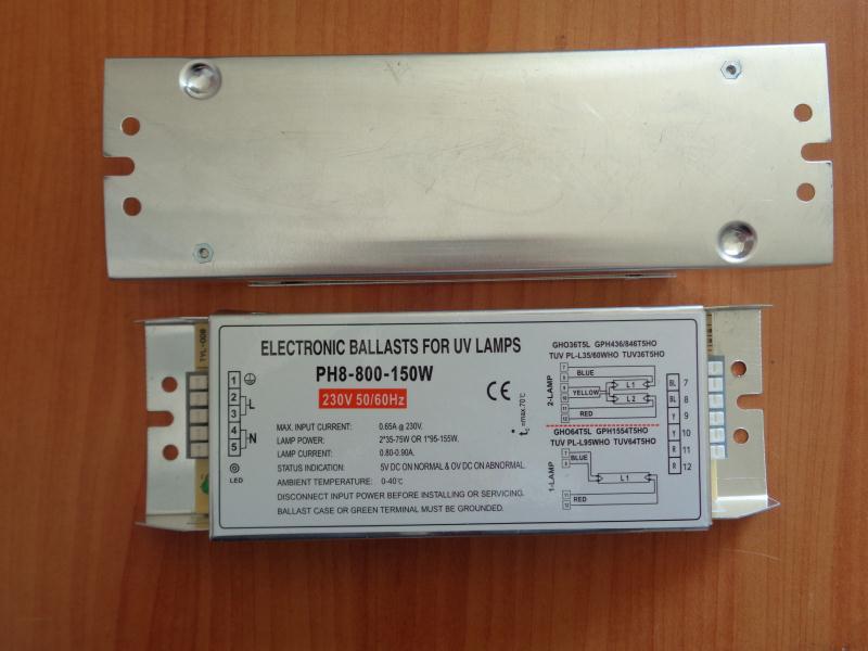 PH8-800-150W UV Ballast UV Photolysis Ballast Water Treatment Ballast